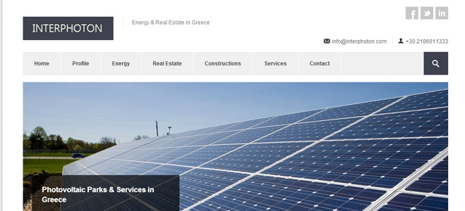 Interphoton Investment Group home page