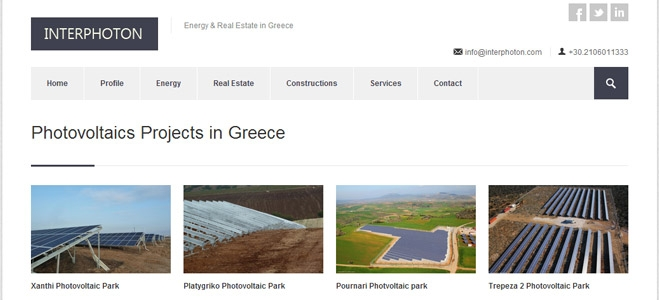 Interphoton Investment Group photovoltaics